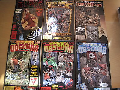 TERRA OBSCURA Vol 2 : COMPLETE 6 ISSUE SERIES by ALAN  MOORE, PAQUETTE etc.2004