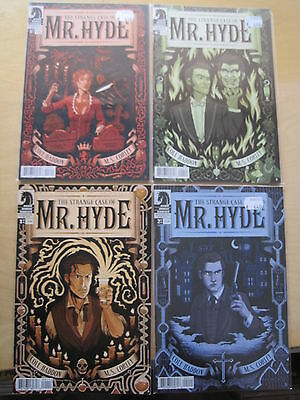 The STRANGE CASE of MR HYDE : complete 4 ISSUE SERIES by HADDON & CORLEY.DH.2011