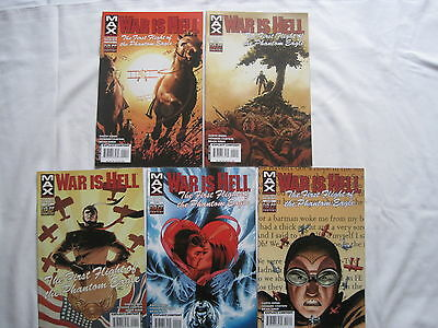 War Is Hell : Complete 5 Issue Series. Ennis. Explicit Content. Marvel Max.2003