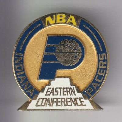 Rare Pins Pin's .. Sport Basket Ball Usa Nba Indiana Pacers East Conference ~D1