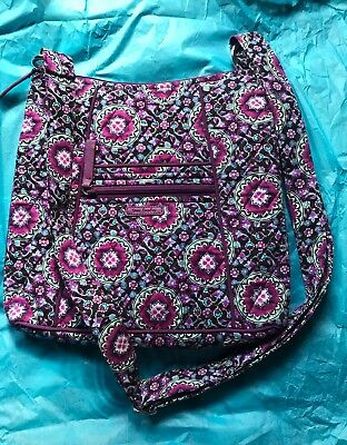 98d712bbf0 VERA BRADLEY ICONIC Hipster Lilac Medallion.  NEW WITHOUT TAGS ...