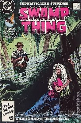 Swamp Thing (2nd Series) #54 1986 FN Stock Image