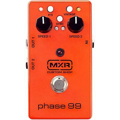 NEW MXR Custom Shop PHASE 99 Effects Pedal !!! 2 = Phase 90's in one !!! LtdE...