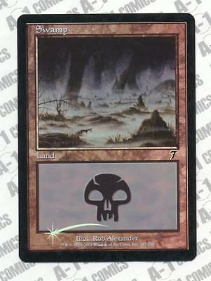 MTG 7th Edition Swamp #346 Various conditions Foil