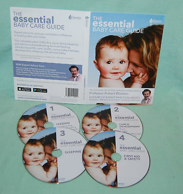 New The Essential Baby Care Guide DVD Boxset Narrated Professor Robert Winston