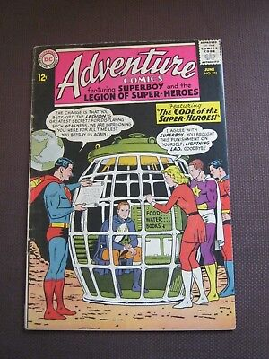 Adventure Comics #321 June 1964 Legion of Super-Heroes - DC - Curt Swan        K