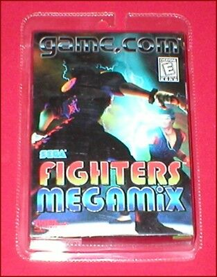 FIGHTERS MEGAMIX FOR the Game Com System NEW SEALED