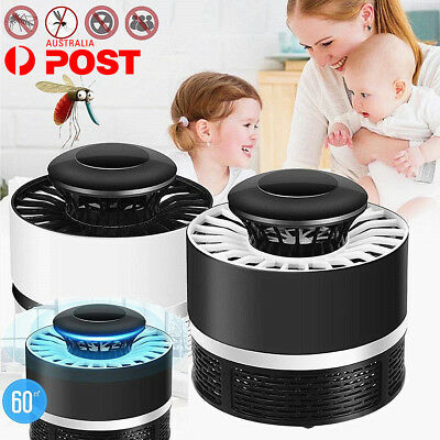 Electric Mosquito Killer Fly Pest Bug Insect Trap Zapper LED Night Lamp USB AY