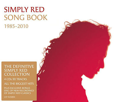 SIMPLY RED Song Book 4CD NEW Best Of Greatest Hits Fatpack Slipcase Songbook