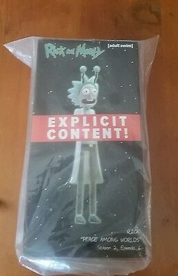 """Rick and Morty """"Peace Among Worlds"""" Loot Crate Explicit Adult Swim NEW! (Sealed)"""