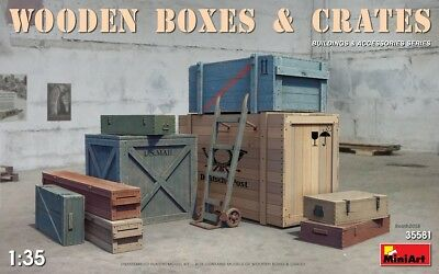 MINIART 35581 Wooden Boxes & Crates for Diorama in 1:35