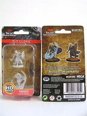 WZK73205 - D&D Nolzur's Marvelous - Unpainted Miniatures Elf Male Cleric