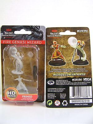 WZK73336 - D&D Nolzur's Marvelous Unpainted Miniatures Fire Genasi Female Wizard