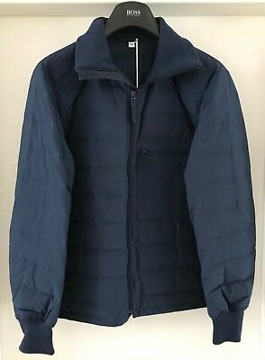 reputable site bad4e e5fc9 UNIQLO U HERREN Daunenjacke blau Gr XS Uniqlo U seamless down track jacket  NEU