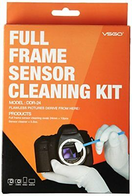 UES DSLR Digital Camera Full Frame (12X24mm Swaps + 15ml Sensor Cleaner)