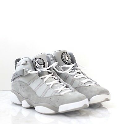 6a6686f9e710 NEW Men s Air Jordan 6 Rings Matte Silver White-Cool Grey Size 10 322992