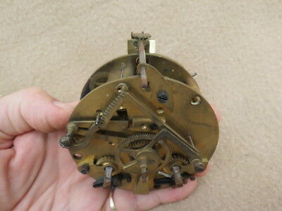 Antique French A D Mougin Striking Clock Movement For Spares Or Repair