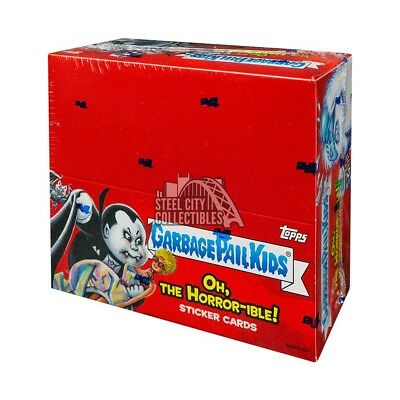 2018 Topps Garbage Pail Kids Oh, The Horror-ible Hobby Box
