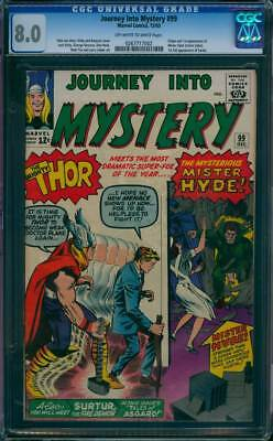 Journey into Mystery # 99  First appearance of Mr. Hyde !  CGC 8.0 scarce book !