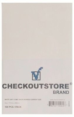 (SAMPLE) - 1 CheckOutStore White 24pt Current Age Comic Books Backing Boards