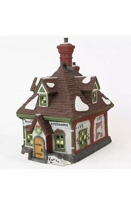 Heritage Collection Dickens Village Series Wm. Wheat Cakes & Pudding Dept. 56
