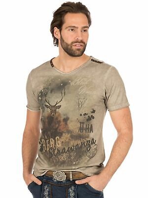 Marjo Traditional Costume T-Shirt M69 - Mountain Strawanza Brown