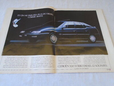 Citroen   Xm    Turbo  Diesel  12  Soupapes