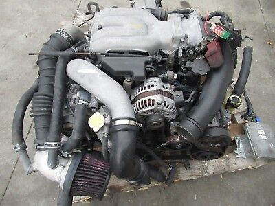 JDM MAZDA RX7 FD3S 13B-TT Twin Turbo Engine 13BTT Engine 1.3L Rotary Motor 13BT