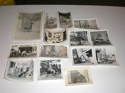 Dogs Lot of 14 Vintage Photo Dogs Photograph Animal Pet