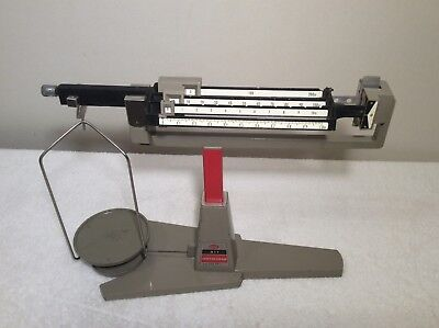 OHAUS Cent-O-gram Balance Scale/Capacity 311 Grams/Vintage Style