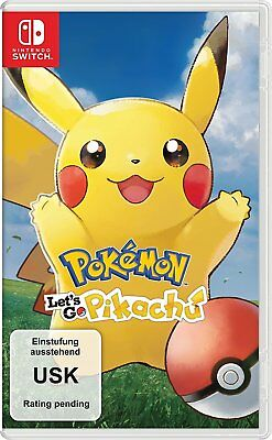 Nintendo SWITCH Spiel Pokemon: Let´s Go, Pikachu! NEU NEW 55