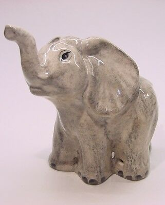 Inventory SALE!! Babbacombe Pottery Pie Bird * Grey Elephant * Made in ENGLAND