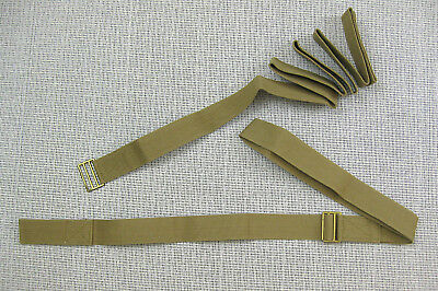 British Army WW2 stretcher/litter carrying strap-pair medic