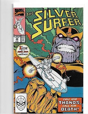 Silver Surer #34,38 + 45-48 - Vf/nm Lot Of 6 Keys Prelude To Infinity Gauntlet