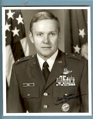 Test Pilot & Project Manager Of The F4E Signed Photo