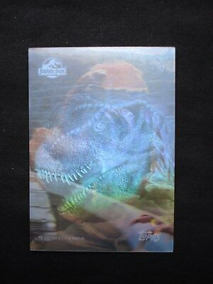 1993 Topps Jurassic Park *silver Action Hologram* Card 1 Of 4