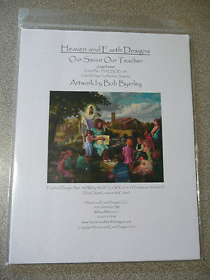 Heaven and Earth Designs Counted Cross Stitch Chart / Pattern - Our Savior