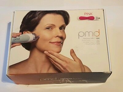 Boxed PMD Personal Microderm Classic Pink with PSU and CD