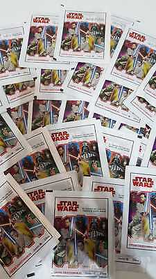 30 Sobres Star Wars Carrefour Nuevos - Topps