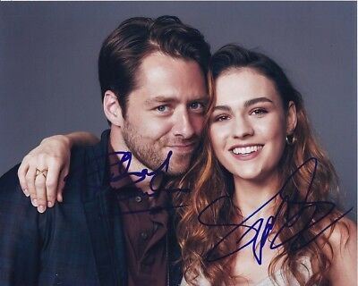 Outlander Bas Coa 1 Movies Autographs-original Sophie Skelton Richard Rankin Signed Photo 11x14 Autograph