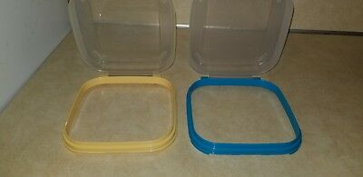 Tupperware Modular Mates Square Flip-Top Seal Replacement Only