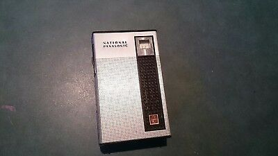 Retro National Panasonic Pocket Vintage Transistor Radio R-1031