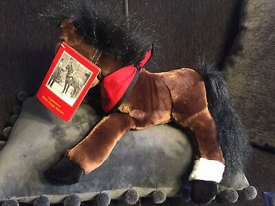 Wells Fargo Plush Horse MAGGIE Brown Pony WITH TAG