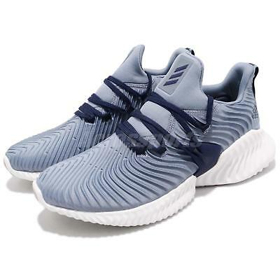 info for bf88a 8e013 adidas Alphabounce Instinct M Raw Grey Blue Mens Running Shoes BOUNCE B27817