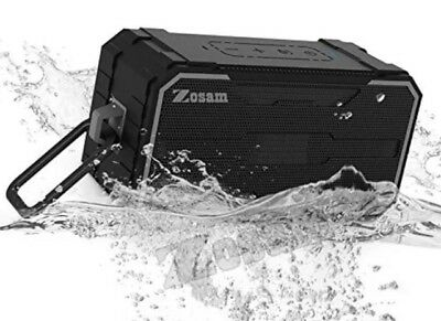 Zosam Portable Bluetooth V4.2 Wireless Speaker, HiFi 10W Driver IPX6 Waterproof