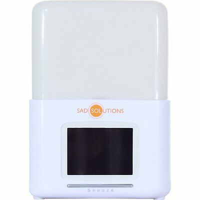 Sad Solutions Wake Up Light Unisex Product Dawn Simulator - White One Size