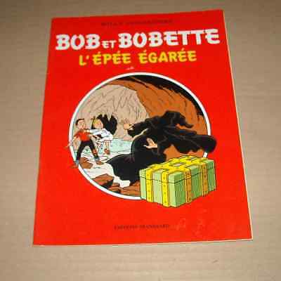 Bob Et Bobette L'epee Egaree Willy Vandersteen