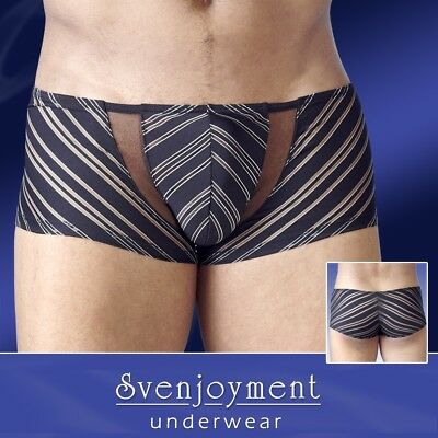Svenj. Swell Hipster Pants Durchscheinend EDEL Powernet Push-Up in L