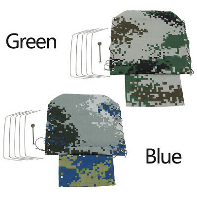 Canvas Truck Hood Cover Cloak for WPL RC Military Rock Climbing Car Toys New