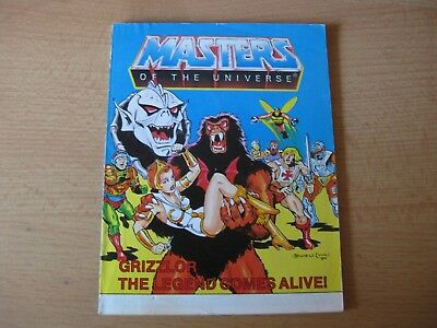 Motu  He-Man  Masters   Comic  Grizzlor the Legend comes alive!  80'er Jahre